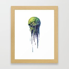 Slime Ball Framed Art Print