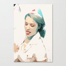 Femsketch 4 Nurse with Syringe Canvas Print