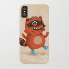 Rollerblade Raccoon Slim Case iPhone X