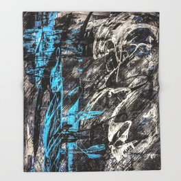 Areus, an abstract Throw Blanket