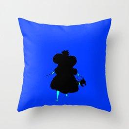 DeVil Always Wins Throw Pillow