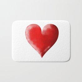 I Heart Bath Mat