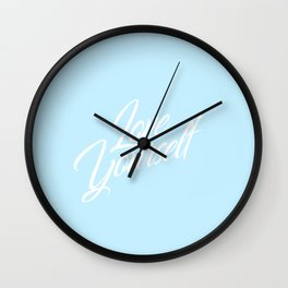 BTS Inspired: Love Yourself Wall Clock