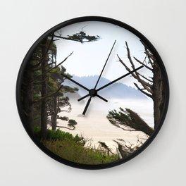 Through the pine Wall Clock