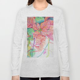 Poinsettia Long Sleeve T-shirt