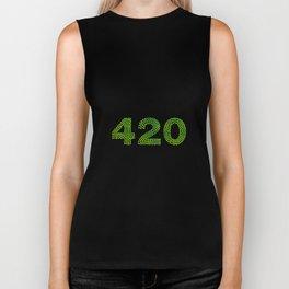 420 | Smoke Weed legalize it gift Biker Tank