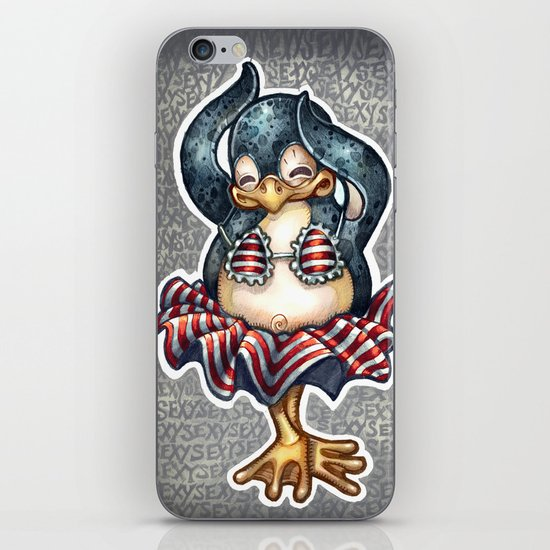 Sexy Penguin iPhone & iPod Skin