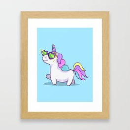 Fabulous Unicorn Framed Art Print