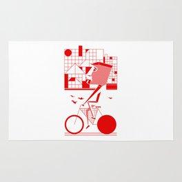 Bicycle I. Rug