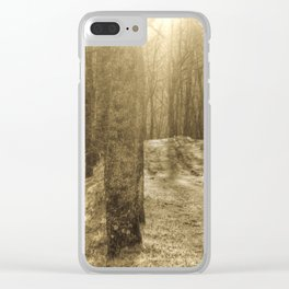 In the forest #6 Clear iPhone Case