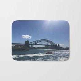 Sydney Harbour Bridge Bath Mat