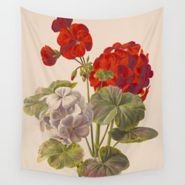 Geranium no. 5 - Ryan Charles, L. Prang & Co. - 1893 Wall Tapestry
