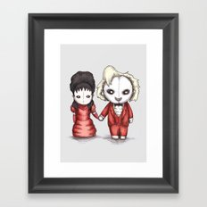 Beetle Wedding Framed Art Print