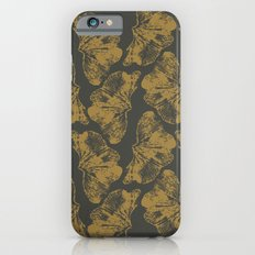 Ginkgo Fossils - Dark Slim Case iPhone 6s