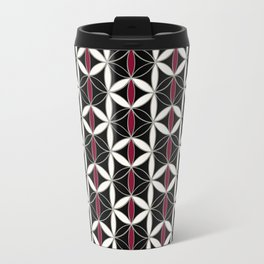 Flower of Life Pattern 10 Travel Mug