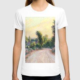 "Claude Monet ""Chemin"" T-shirt"