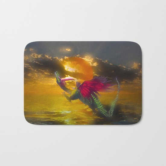 Let the child you once were be the wings you take on tour Bath Mat
