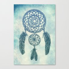 Double Dream Catcher Canvas Print