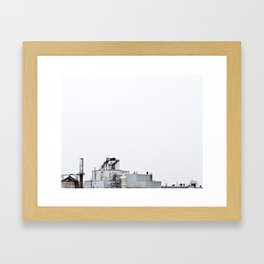 La contamination 6 Framed Art Print
