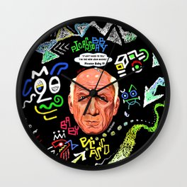 Picasso Baby Wall Clock