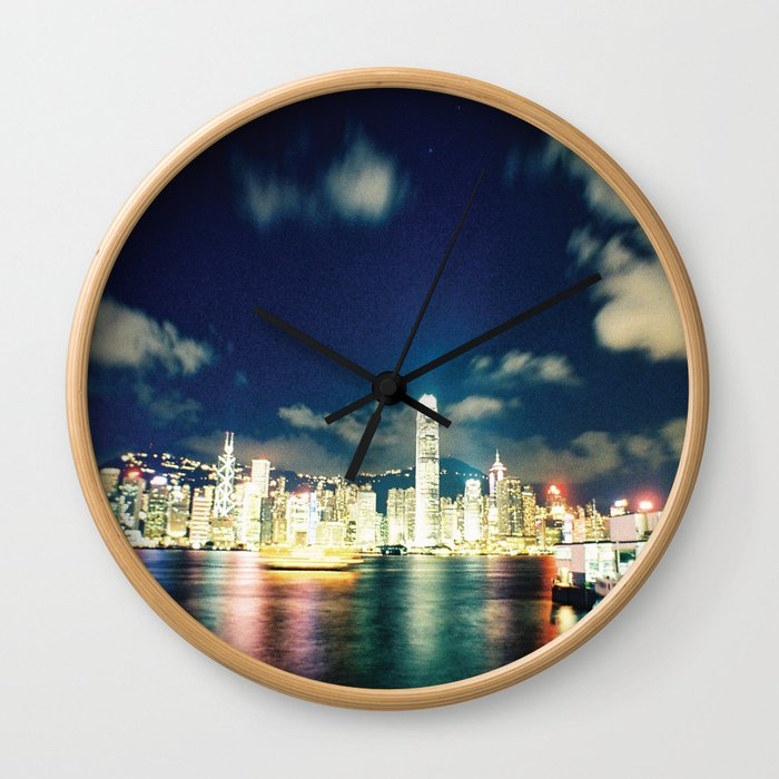harbour lights Wall Clock