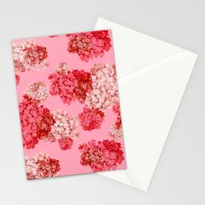 hydrangea (doubled) Stationery Cards