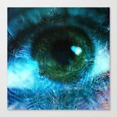 Water Eye Canvas Print