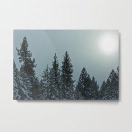 Blue Skies in Tahoe Metal Print