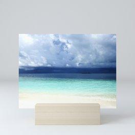 Maldives colors Mini Art Print