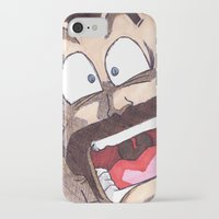 satan iPhone & iPod Cases featuring Mr. Satan by DeMoose_Art