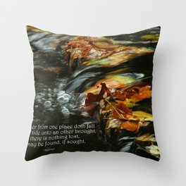Nothing is Lost Throw Pillow