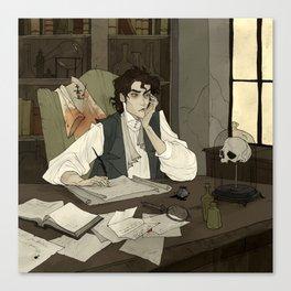 Victor Frankenstein Canvas Print