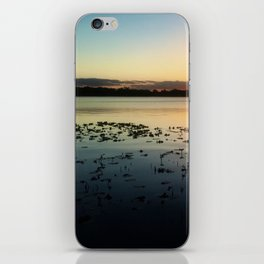 Dock Sunset iPhone Skin