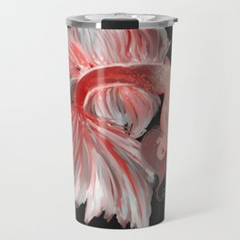 Betta Mermaid by Ane Teruel Travel Mug