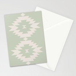 Southwestern Minimalism - Sage Stationery Cards