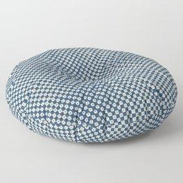 Vintage Checkerboard Block Print by Pierre-Fiacre Perdoux Floor Pillow
