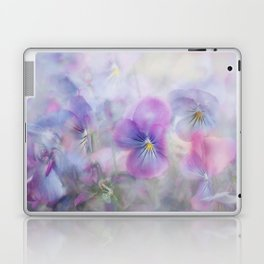 little pansies Laptop & iPad Skin