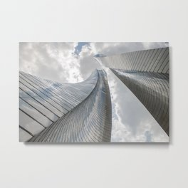 When you look at the sky Metal Print