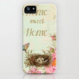 Home Sweet home #4 iPhone Case