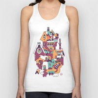 cabin Tank Tops featuring Farrier's Cabin by C86 | Matt Lyon
