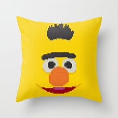 Knit Bert Throw Pillow