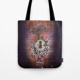 Time Perfusion Tote Bag