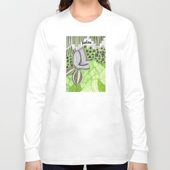 Relax! Long Sleeve T-shirt