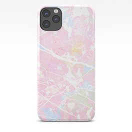 Pastel Candy Pollock marble iPhone Case