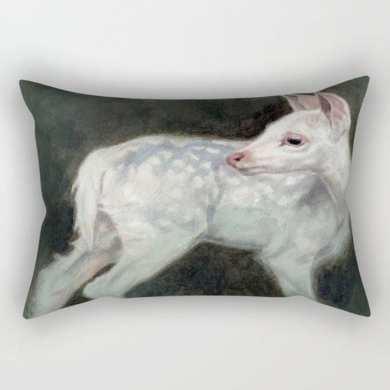 A Forest Ghost Rectangular Pillow