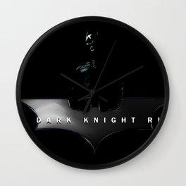 Superhero Film Wall Clock
