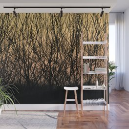 Sunset pattern - Poland - Landscape and Rural Art Photography Wall Mural