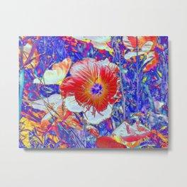 The Wildflowers. © J&S Montague. Metal Print