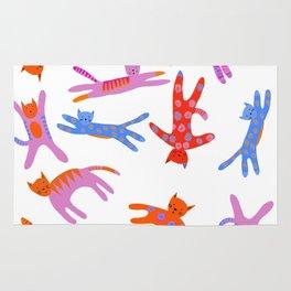Cartwheel kitties Rug