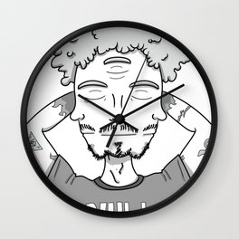 When the third eye is closed too, you are null. Wall Clock